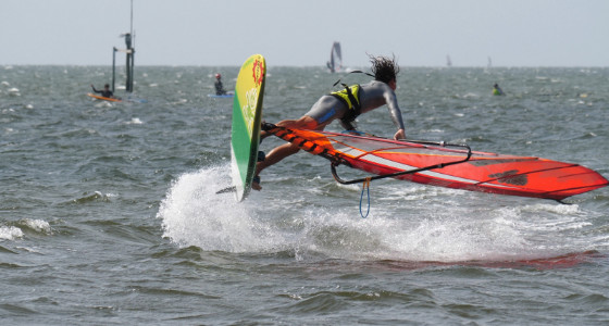 Phil Soltysiak Wins Best Freestyle Move in Hatteras