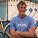 Words with Duncan Coombs while no wind on Day 2